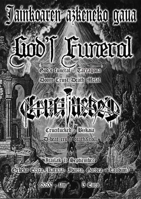 Jainkoaren azkenengo gaua: God´s Funeral eta Crucifucked