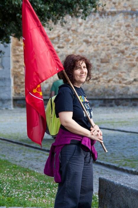 Nafarroako Erresumaren ikurra Arakaldon