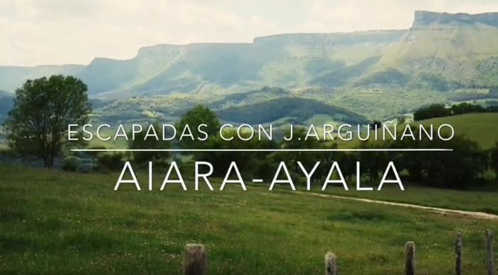 Aiarako gastronomiaren inguruan ETBrako programa grabatu du Joseba Argiñanok