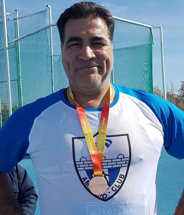3. postua eskuratu du Manolo Hidalgok Madrilen