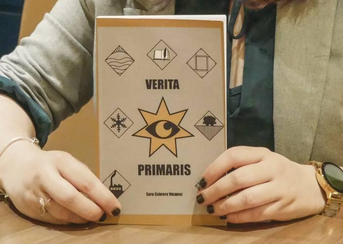 Sara Cabrera Vazquezen 'Verita Primaris' liburuaren zozketa