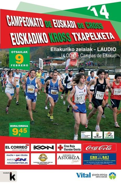Euskadiko Kross Txapelketa egingo da Laudion otsailaren 9an