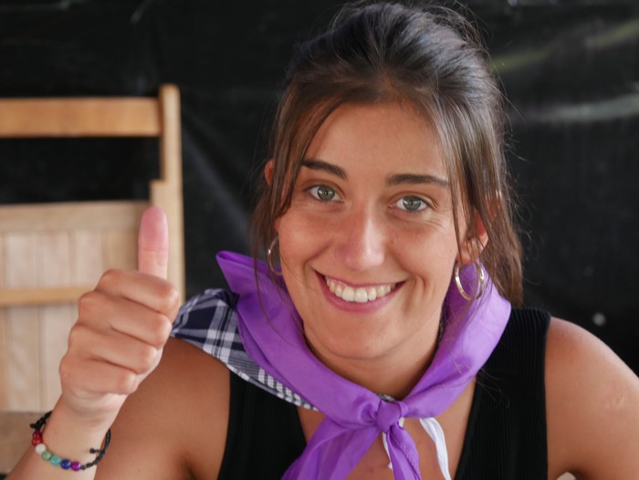 Saretzeko ekintzak eta espazioak uztartu zituen atzo Egun feministak - 19