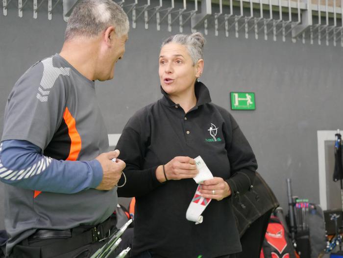 Euskadiko aretoko arku txapelketa hasi da Bañueta Kiroldegian - 20