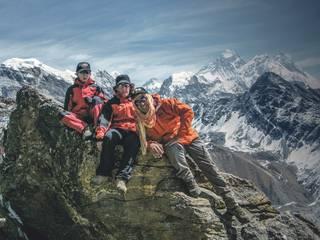 """""""Himalayako Ama Dablam gailurrera goaz, eskalada askodun 6.856 metroko mendi teknikora"""""""