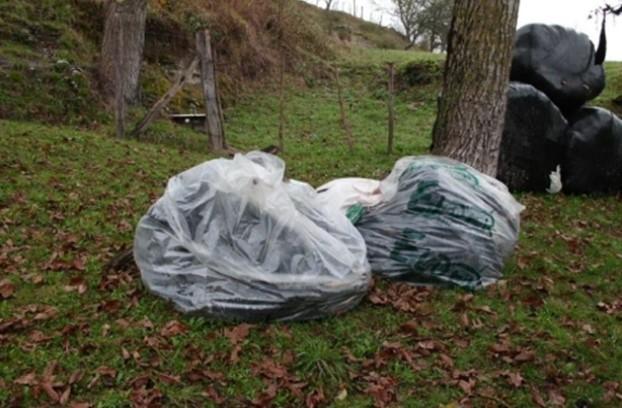 Abeltzaintzak sortutako 25,57 plastiko tona jaso ditu Aiarako Kuadrillak