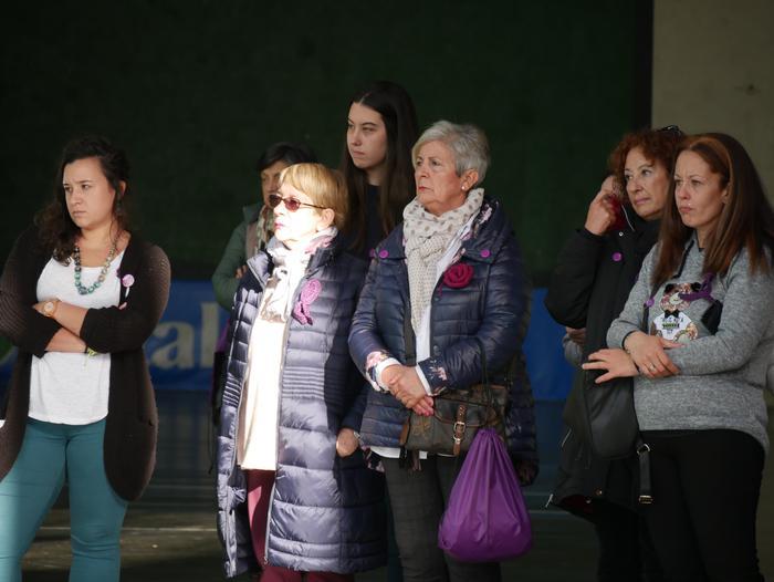 Indarkeria matxistaren aurka mobilizatu dira eskualde osoan - 68