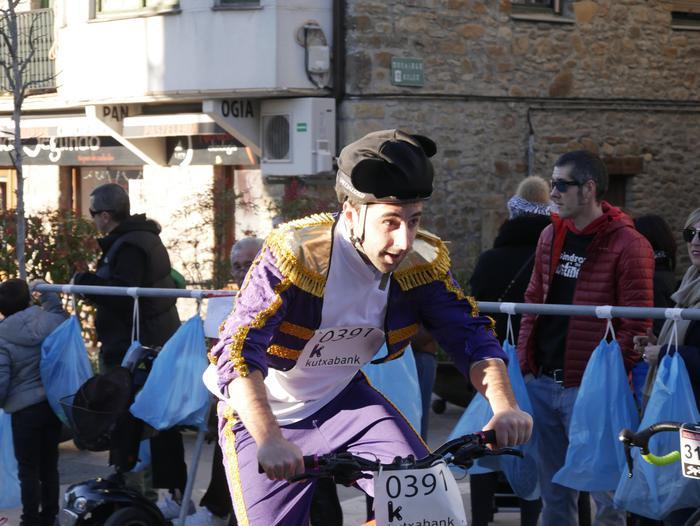 Ander Ganzabalek irabazi du San Silbestre lasterketa jendetsua - 80