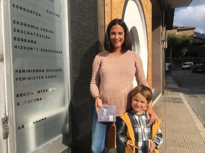Joana Mate laudioarrak irabazi du Aneguriaren diskoa