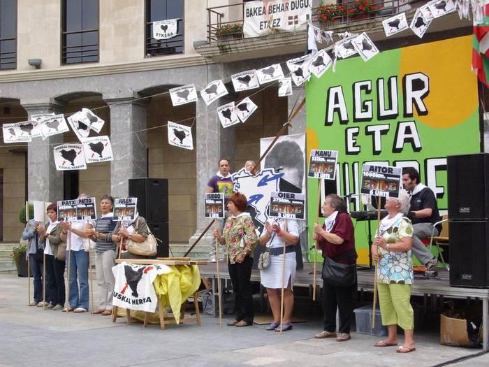Euskal Presoen sakabanaketaren aurkako mozioa eztabaidatuko dute Udalbatzan