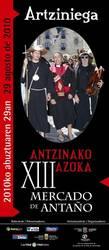 Artziniega, Antzinako Azoka ospatzeko prest