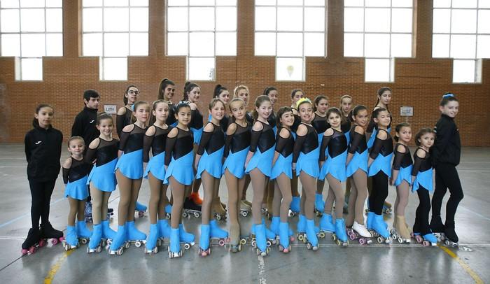 85 patinatzaile baino gehiago arituko dira Lau Urtaroen Patinaje Artistikoko Lehiaketan