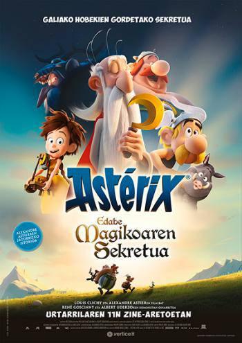 """""""Asterix eta edabe magikoaren sekretua"""""""