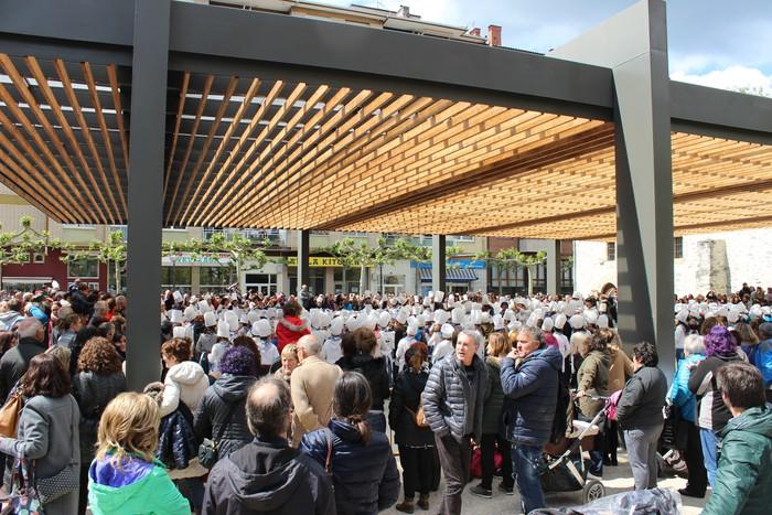 San Anton plazan egin dute umeek San Prudentzioko danborrada - 28