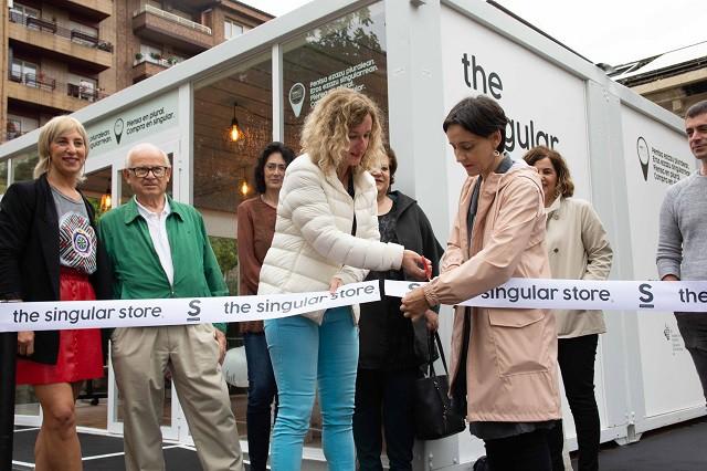 """""""The Singular Store""""-k Amurrioko eta Guardiako tokiko merkataritza sustatutako du asteburuan"""