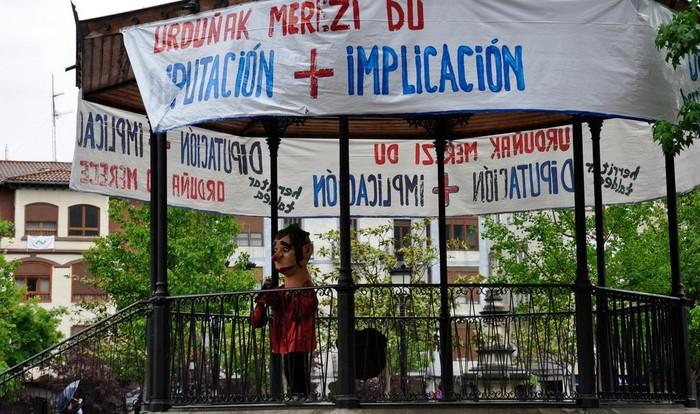 """""""Urduñak Merezi du"""" plataforma Bizkaiko Batzar Nagusietan izango da"""