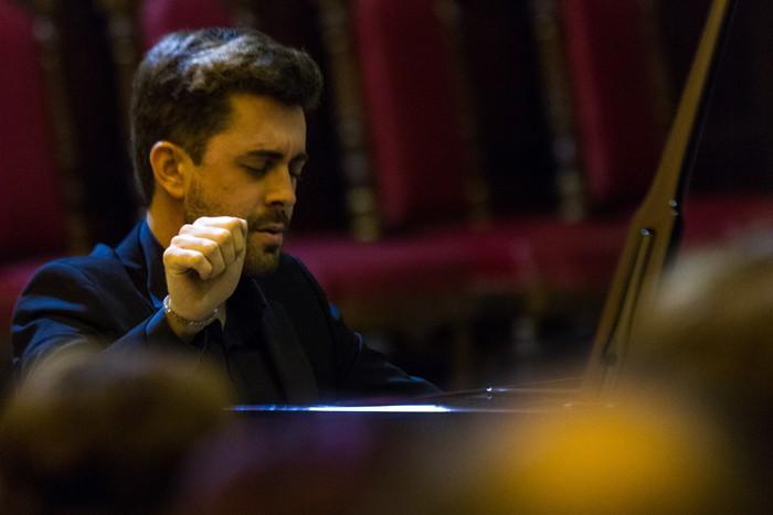 Antonio Oyarzabalek piano kontzertu jendetsua eskaini zuen atzo - 4
