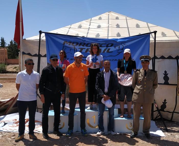 Iraide Izagak irabazi du Marocco Trail lasterketa