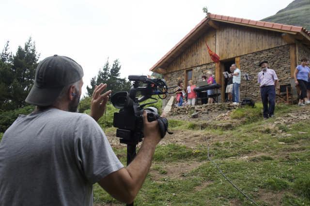 """Arrankudiaga-Zolloko eta Laudioko herritarrak grabatu dituzte """"Gailurra martxan"""" telebista saioan - 3"""