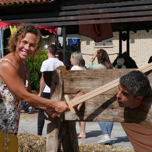 Bizilagun ugari inplikatu dira Antzinako Azokaren antolakuntzan