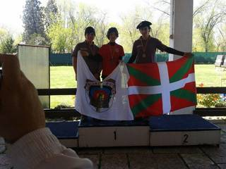 Joseba Aretzagak eta Anartz Bajok podiuma zapaldu dute Espainiako Aire libreko txapelketan