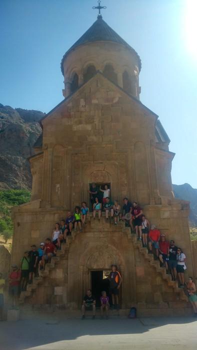 Armeniako 3.000 metroko tontorrak igo dituzte Mendiko Lagunakeko kideek - 15