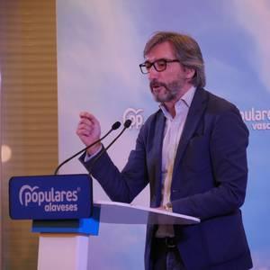 """PP: """"Boto konstituzionalista eskatzen dugu. Siglen gainetik jarri behar dugu Araba"""""""